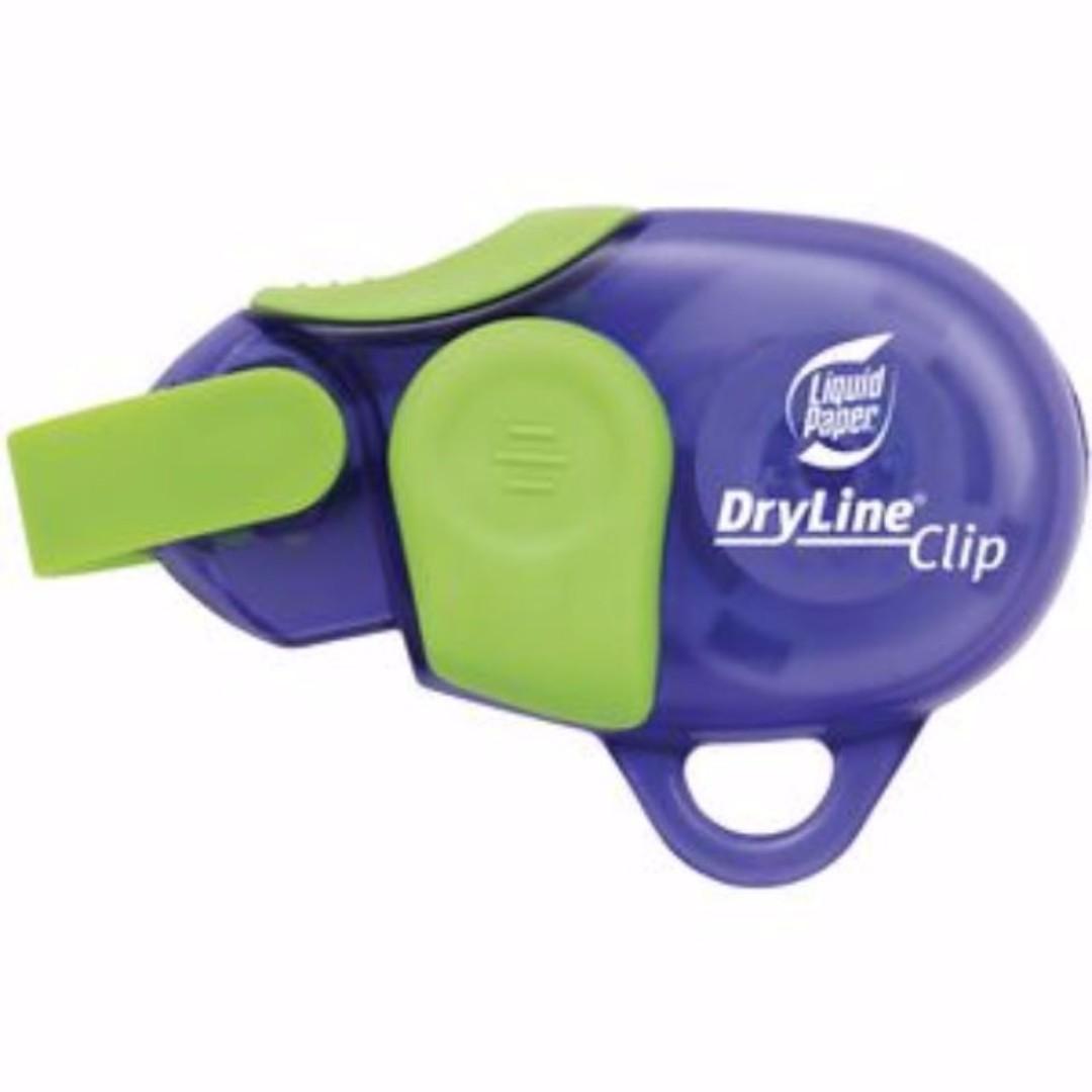 BN Liquid Paper Dryline Clip Correction Tape 5mm x 6m