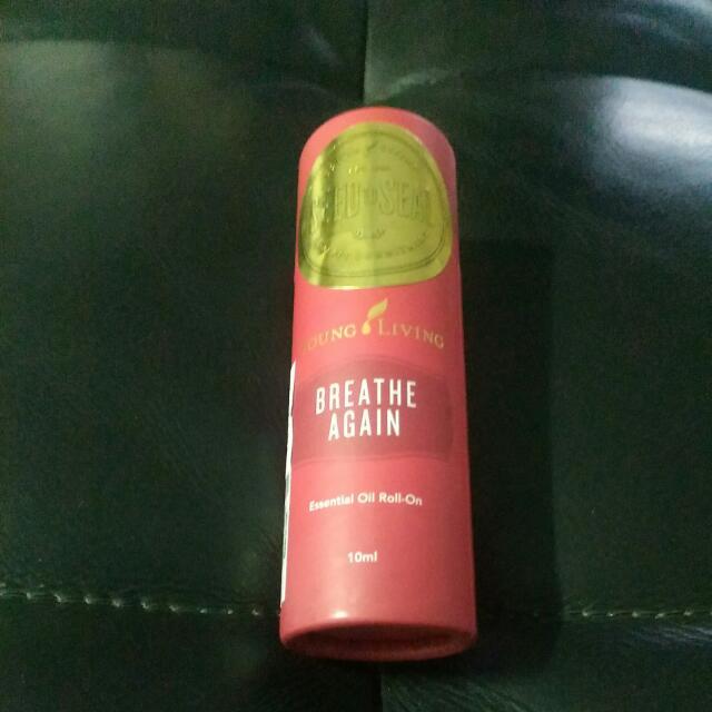 BREATHE AGAIN Essential Oil Roll-On