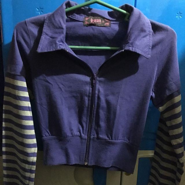 Bum Jacket(Croptop-styled)