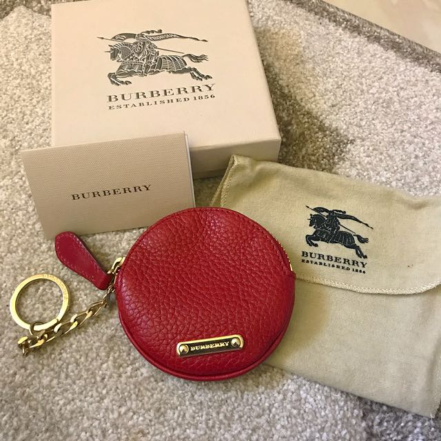 Burberry Leather Coin Purse
