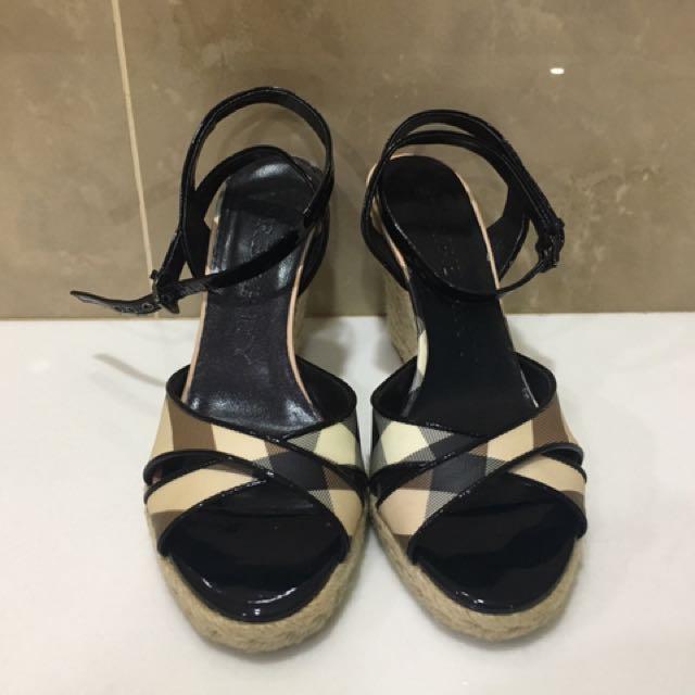 Burberry Wedge Heels