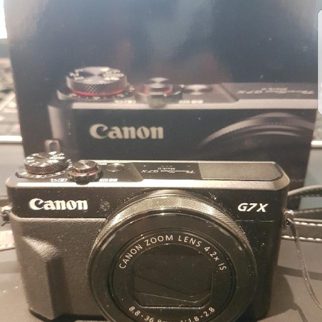 Canon G7X Mark 2