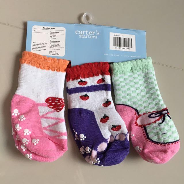 Carter Baby Girl's Socks
