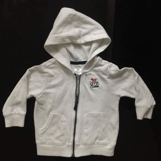 Carters Hooded Sweater/Jacket
