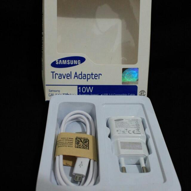 Casan Handphone/ Travel Adapter Fast Charger Smartphone Samsung Galaxy (2A)