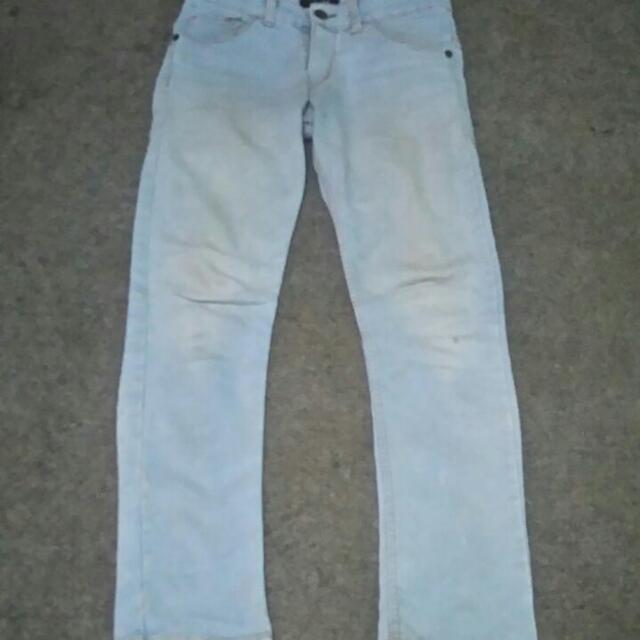 celana jeans freeong
