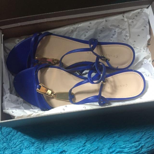 Charles N Keith Strap Sandals