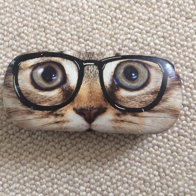 Claire's Cat Glasses Case