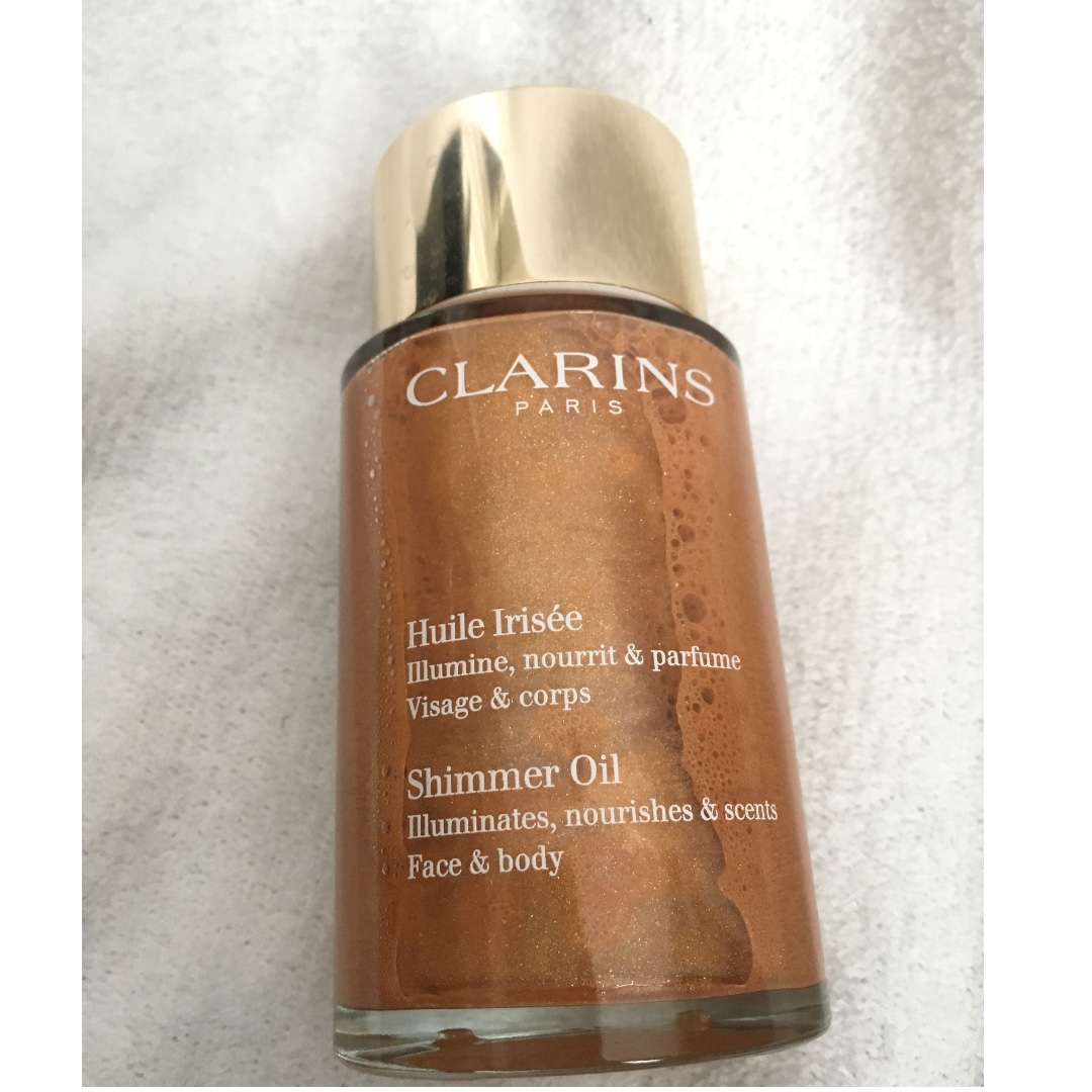 CLARINS SHIMMER OIL FACE & BODY