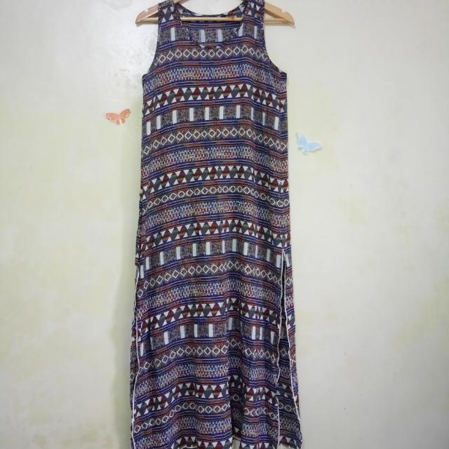 Copa Cabaña Aztec Maxi Dress