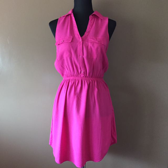 Cotton on Pink dress (small)