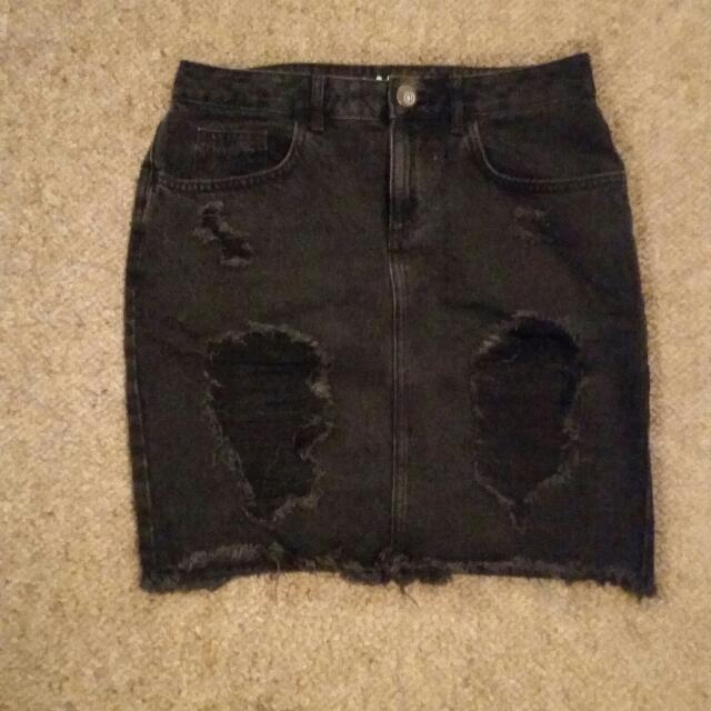 Cotton On Ripped Skirt