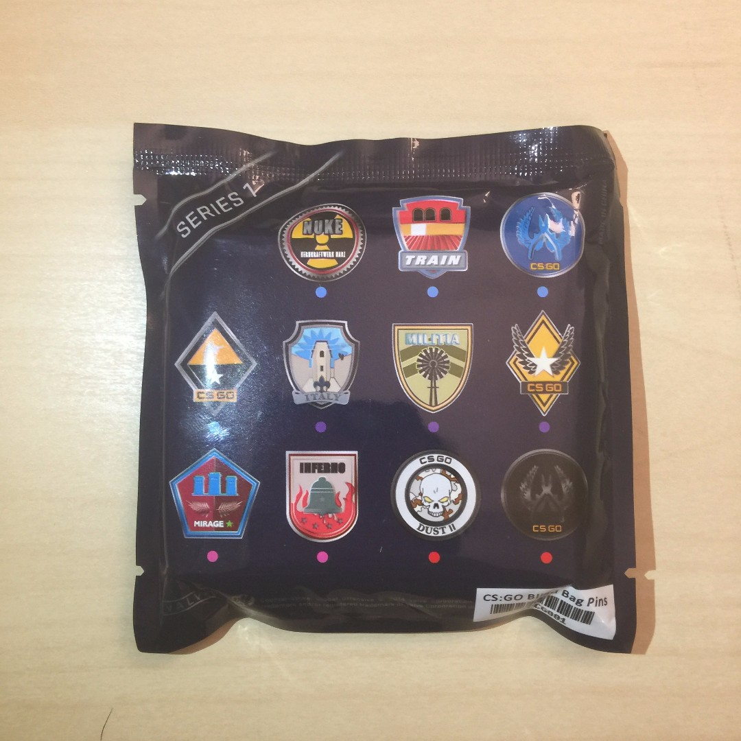 Counter Strike Global Offensive Collectible Pin Series 1