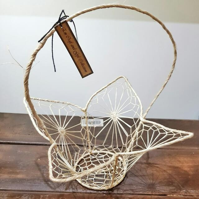 Crafted baskets