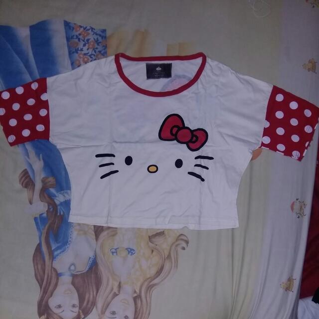 Crop Top Hello Kitty