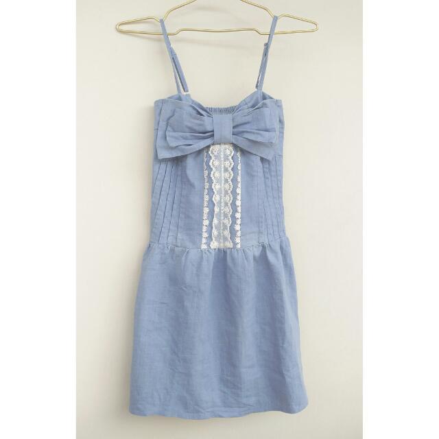 Denim Laced Dress
