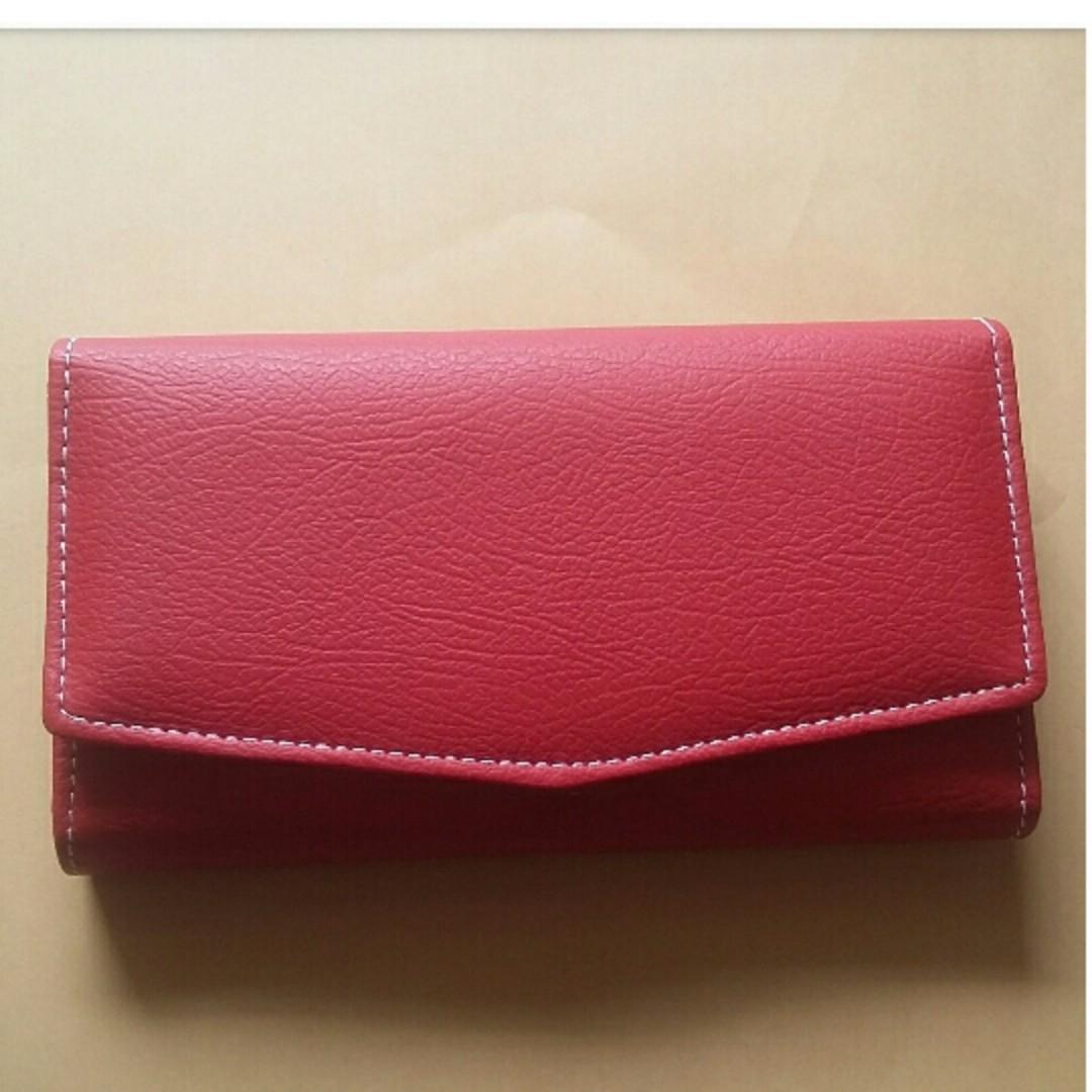 dompet lipat 3 merah