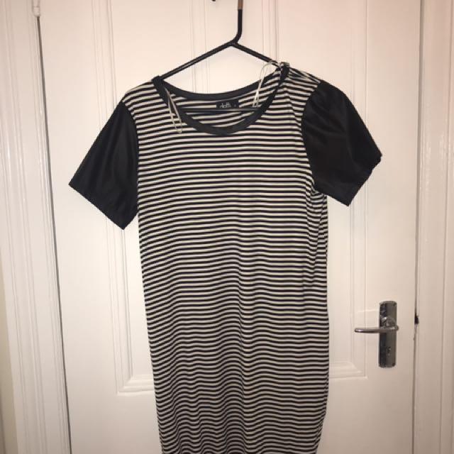Dotti Striped Dress Size 12