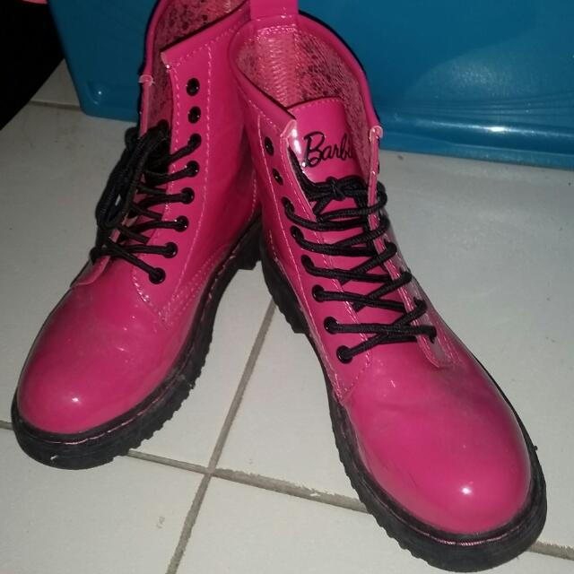 Dr. Martens Inspired Barbie Boots