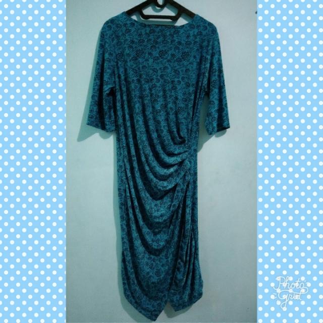 Drapped Dress (Asimetric)