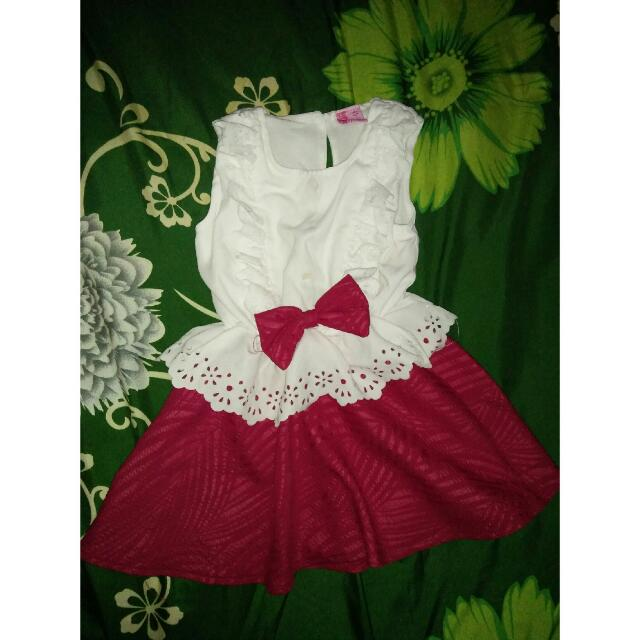 Dress Redwhite