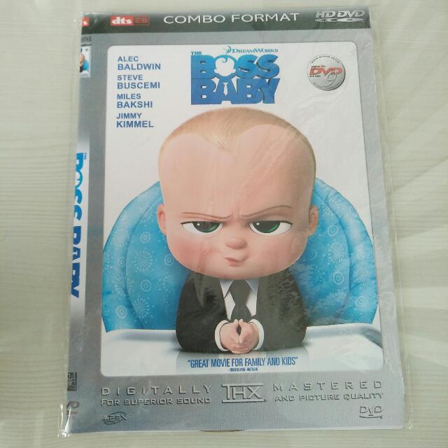 DVD BOSS BABY (Dream Works)
