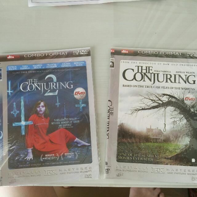 DVD The Conjuring I & 2