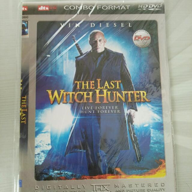 DVD The Last Witch Huter