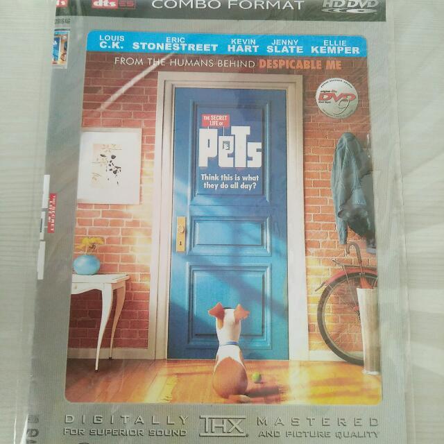 DVD The Secret Life Of Pets