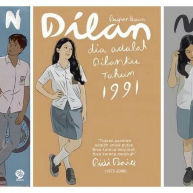 Ebook Dilan Milea Part 1,2,3