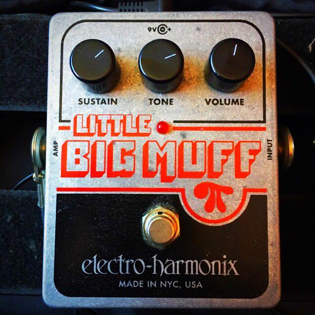 EHX Little Big Muff Fuzz Distortion Pedal