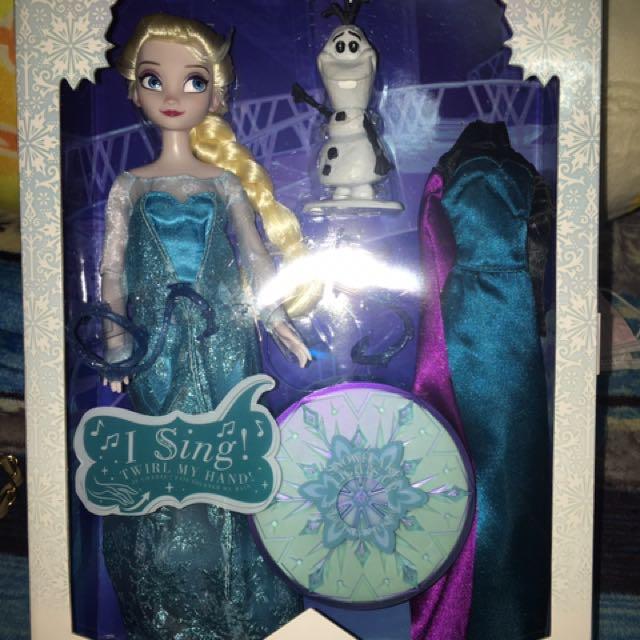 迪士尼全新Elsa❄️和小雪人玩偶⛄️