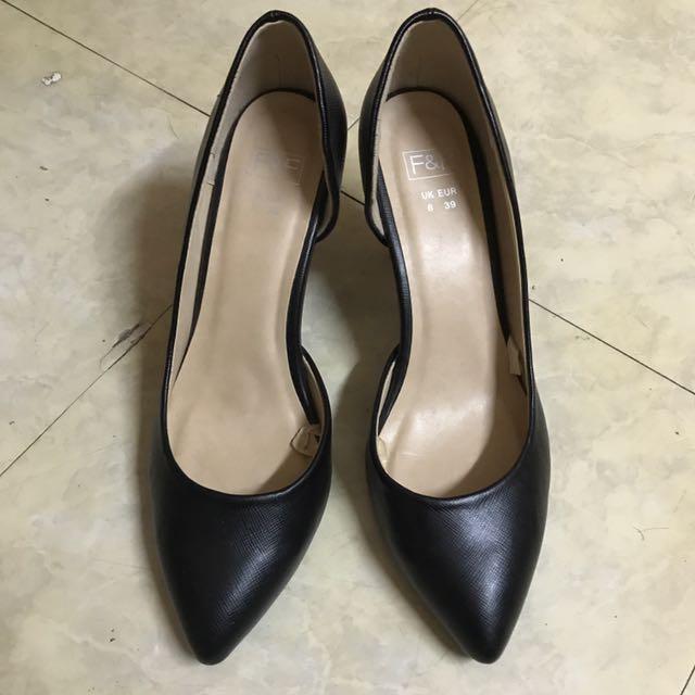 F&F Black Shoes