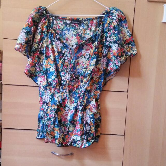 F&H Girly Floral Top