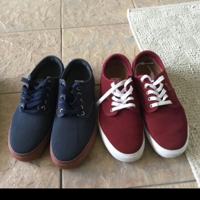 fe9d24fcac1915 FIRE SALE  Authentic Vans Maroon Chima Ferguson Pro Ultracush Lite ...