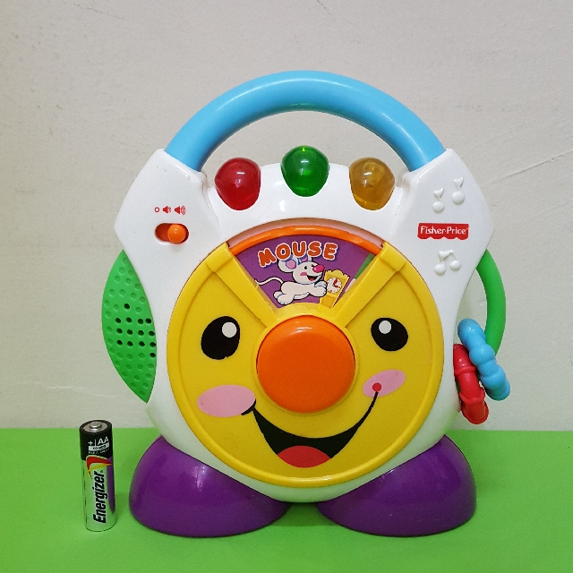 Fisher Price Laugh N Learn Nursery Rhymes Cd Player Light Up And Animal Sounds Toys Other On Carou