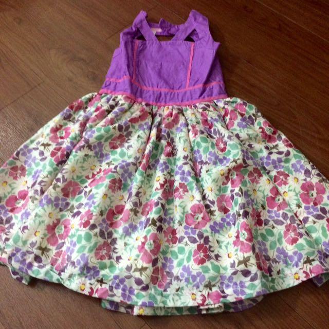Floral Violet Dress