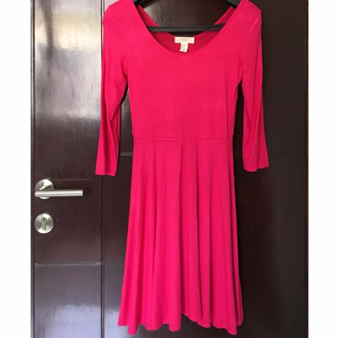 Forever 21 Fuschia Dress