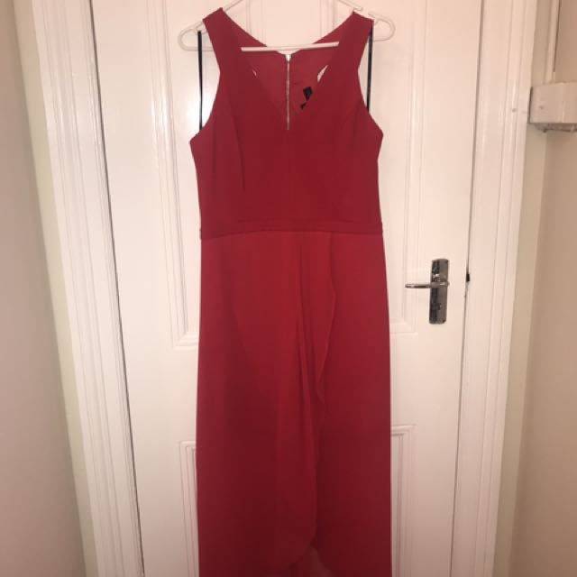 Forever New Red Dress Size 14