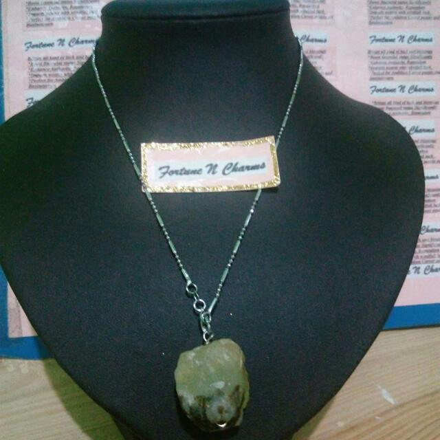 Fortune&Charms Green calcite