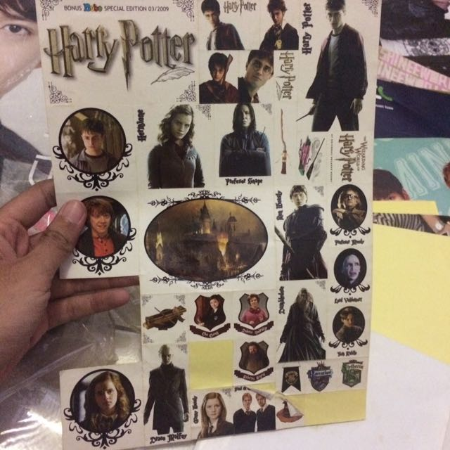 FREE! Stiker Harry Potter