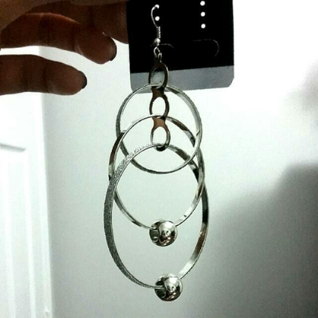 FREE Triple Hoop Hanging Earrings