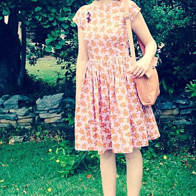 Pretty Parcel Gingerbread Dress
