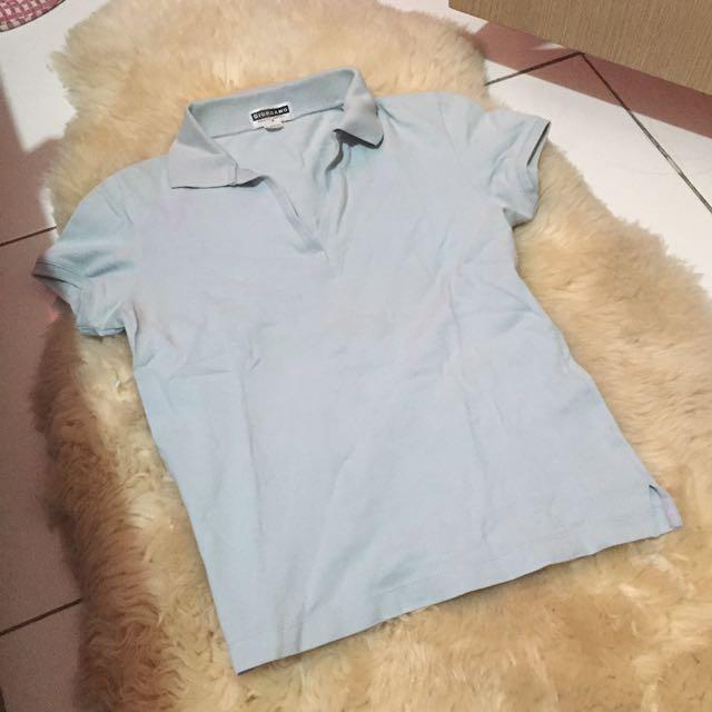 Giordano Baby Blue Polo Shirt