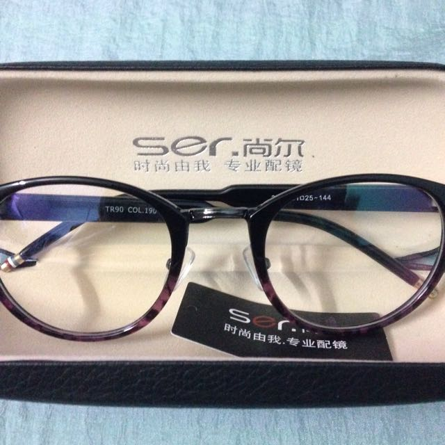 57fb9682a16 Glasses Frame(the Lens Just For Display And Is Without Power ...