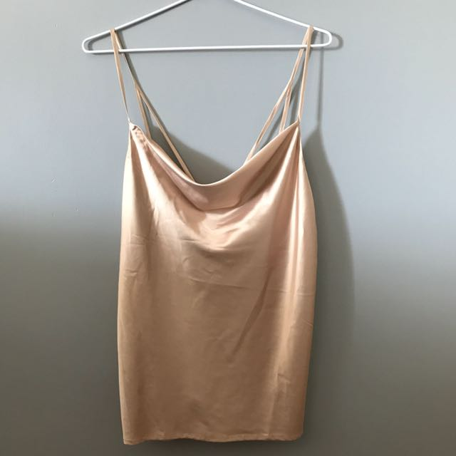 Gold Bardot Top