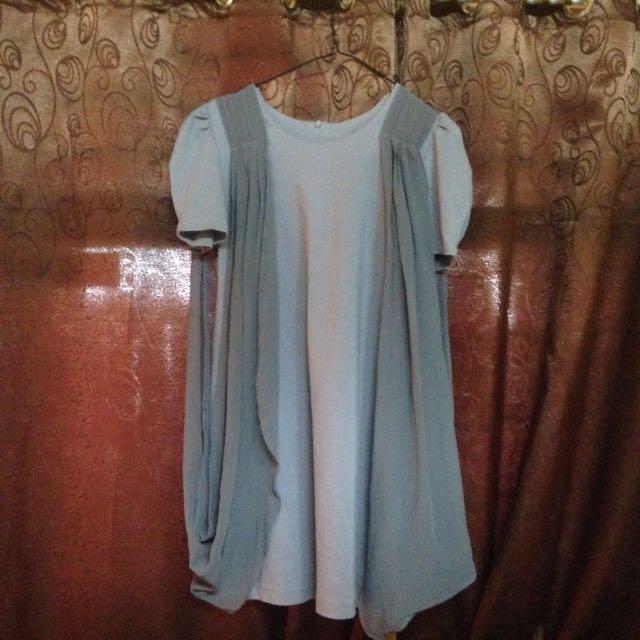 Gray Dress Preloved