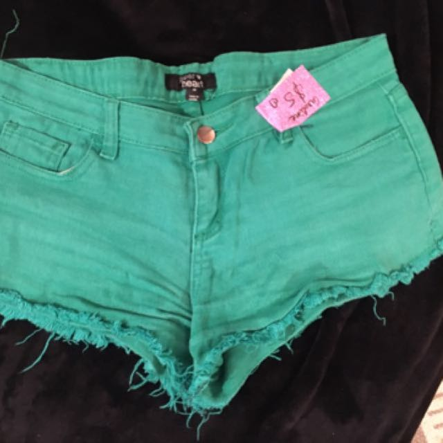 Green Short - Size 8-10
