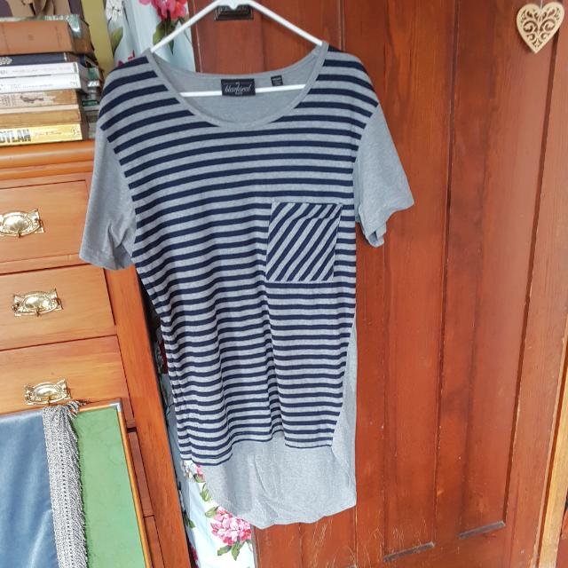 Grey Droptail T-shirt