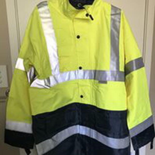 Hi Vis raincoat/jacket